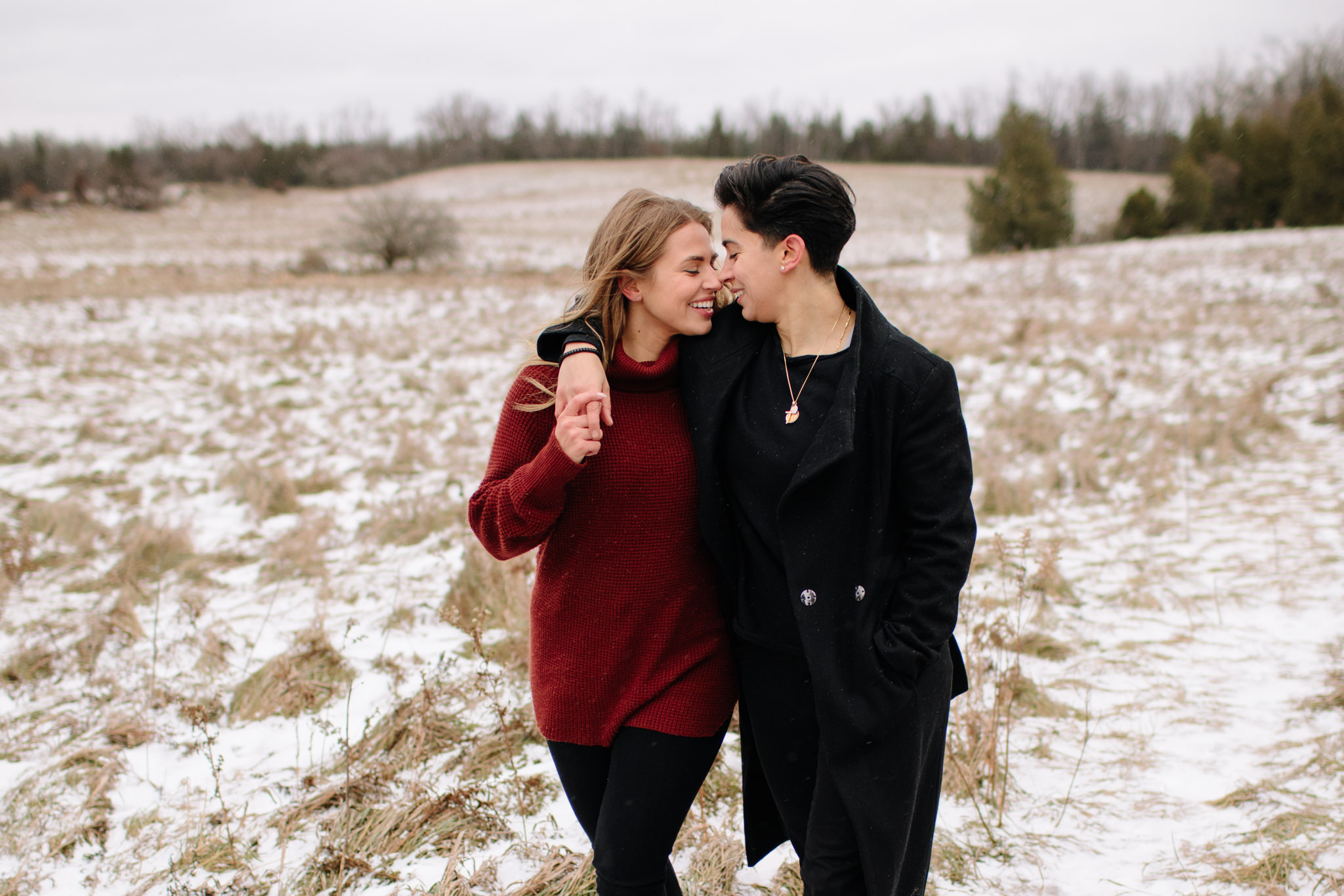 Same sex couples session in georgetown, ON-1
