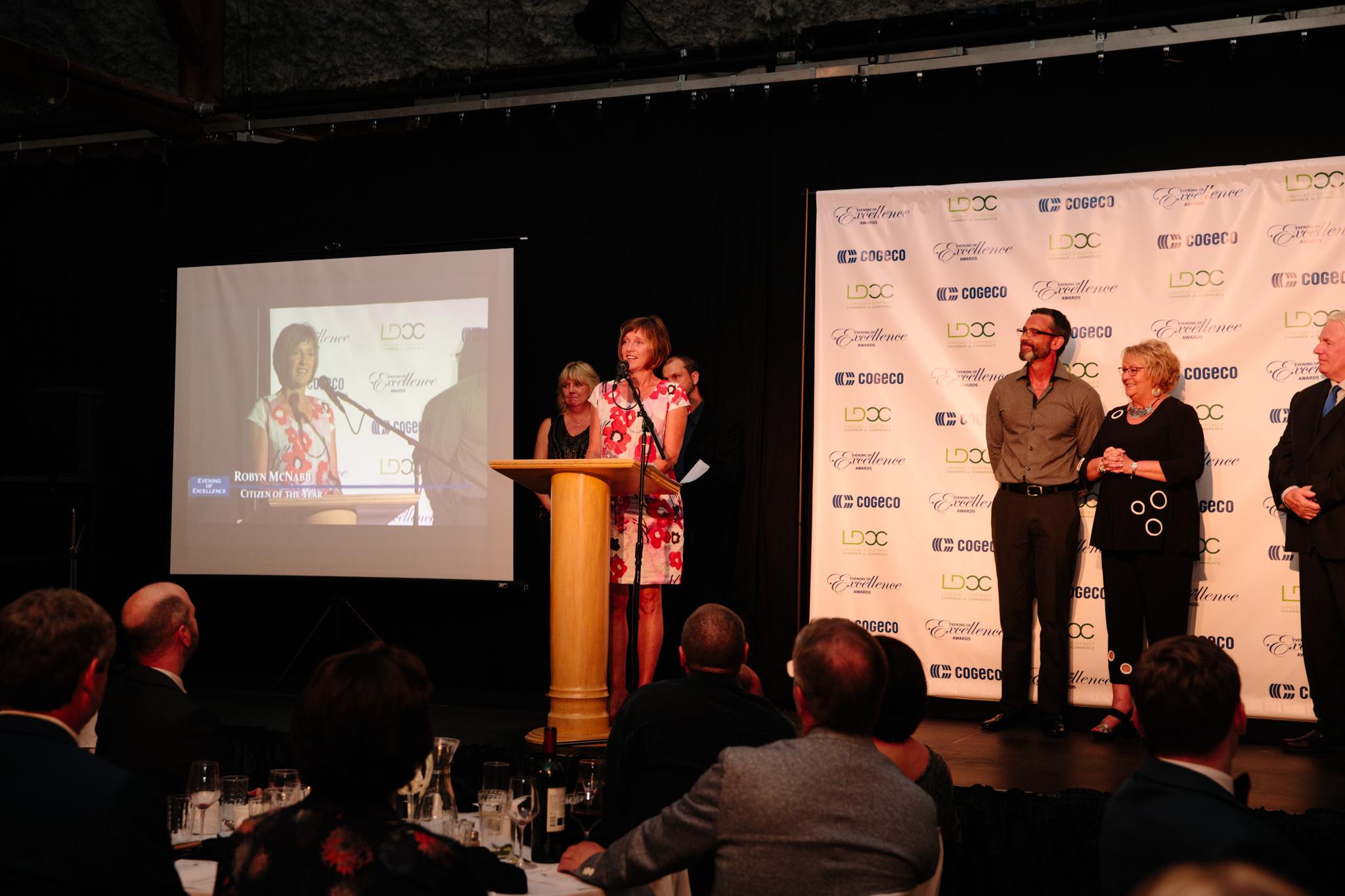 acceptance speech for volunteer award